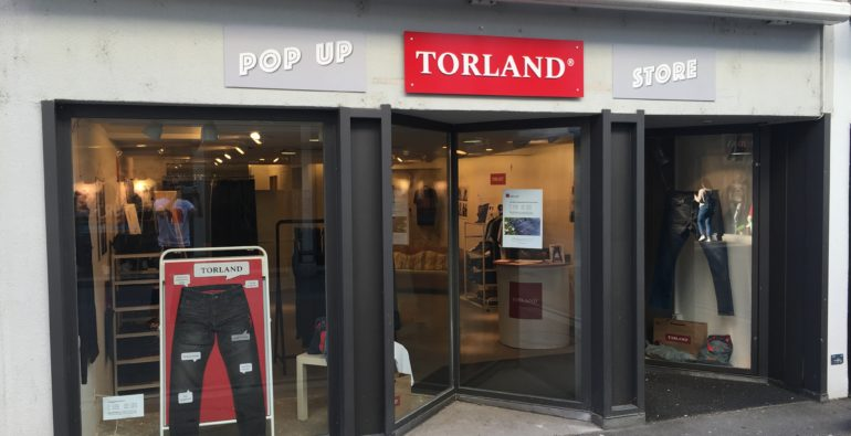 TORLAND Pop-up Store